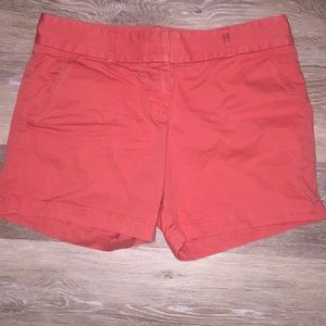 J Crew Shorts - Coral - Size 4